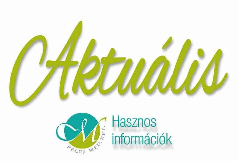 Aktuális hírek, rendelések, magánrendelések, akciók - Pécel Med Kft Dr. Takács Györgyi családorvos, belgyógyász, foglalkozás egészségügyi szakorvos