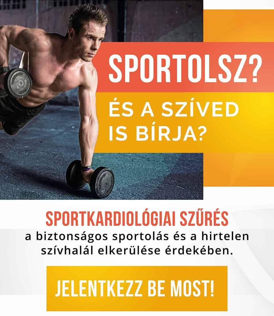 Sportkardiológiai és kardiológiai rendelés Pécelen